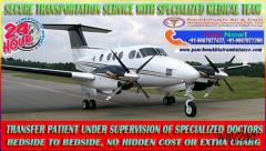 Get Renowned ICU Support Charter Air Ambulance in Guwahati – Panchmukhi