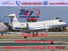 Take Classy and Finest Air Ambulance Service in Indore by Medilift