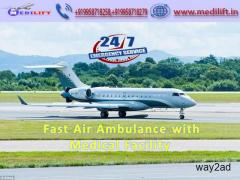 Hire Finest and Fast Air Ambulance Service in Jabalpur with Doctor