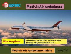 Medivic Air Ambulance Indore-the Special Medical Flight