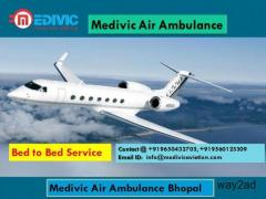 Medivic Air Ambulance Bhopal-Hi-Tech Services