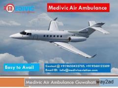 Medivic Air Ambulance Guwahati-Quick and fast to relocate