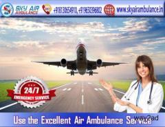 Choose Urgent Sky Air Ambulance Service in Raipur