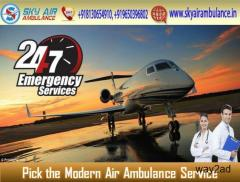 Choose the Highly Hi-tech Air Ambulance Service in Bhopal