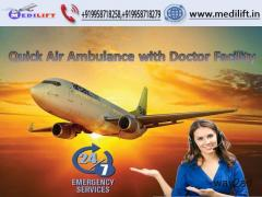 Get Top-Quality Air Ambulance Service in Bhopal by Medilift