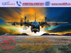 Take Superior and Safe Air Ambulance Service in Raipur by Medilift