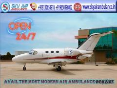 Use the Dependable and Hi-Class Air Ambulance in Guwahati