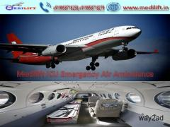 Get Superior Medical Emergency Air Ambulance in Patna