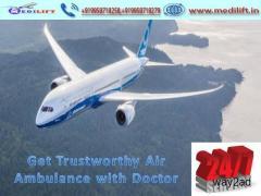 Pick Hi-Tech Air Ambulance Service in Jaipur with Medical Facility