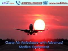 Best ICU Support Air Ambulance Service in Patna by Medilift