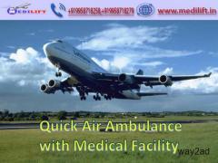 Medical Facility Commercial Air Ambulance Service in Kolkata