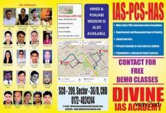 Best IAS Coaching in Chandigarh - Divine Academy