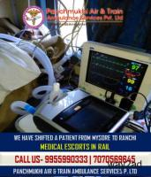 ICU to ICU Patient Transfer Services by Panchmukhi Air Ambulance in Mysore