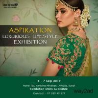 Aspiration - Luxurious Lifestyle Exhibition at Surat - BookMyStall