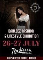 Dahleez Fashion & Lifestyle Exhibition at Jaipur - BookMystall