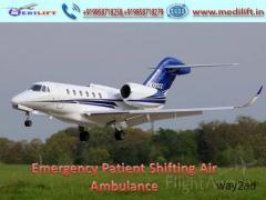 Advanced Medical Facility Medilift Air Ambulance Service in Bagdogra