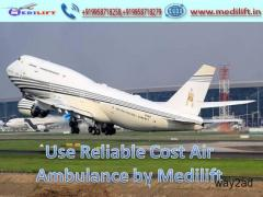Receive Medilift Low-Cost Air Ambulance Patna to Bangalore Anytime