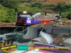 Medilift Train Ambulance from Patna with Experienced Doctor Team