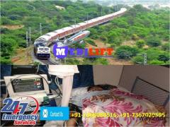 Get Country's Best Train Ambulance from Mumbai at Low-Cost