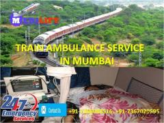 Special ICU Setup Train Ambulance Patna to Mumbai by Medilift
