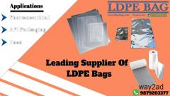 Best quality LDPE bags supplier in india