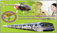 Top Class 24X7 Days Available Panchmukhi Air Ambulance Service in Guwahati – Call Now