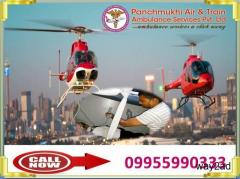 Panchmukhi Air Ambulance Service in Bangalore to Bed to Bed patient Transfer Services