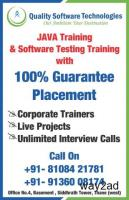 Quality Software Technologies  SoftTest, JAVA, Python ML T&P