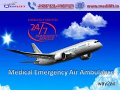 Book Much Reliable Air Ambulance Service in Bangalore by Medilift