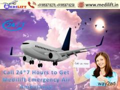Just Hire the Best Low Fare Air Ambulance in Kolkata with ICU Facility
