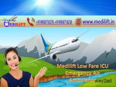 Medilift Air Ambulance in Ranchi – Get the Best One with Doctor Team