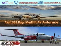 Hire Inexpensive Commercial Air Ambulance Service in Ranchi – Medilift