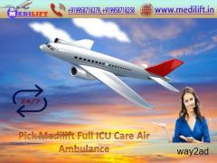 Pick the Lowest Price Air Ambulance in Patna with Doctor Facility