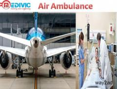 Medivic Aviation Air Ambulance from Silchar with well Specialized Doctor