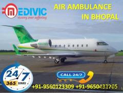 Medivic Air Ambulance in Bhopal-Imparts Remarkable Medical Tools Onboard