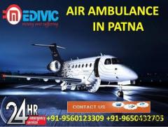 Book ICU Support Medivic Air Ambulance in Patna at Reasonable Cost