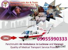 For Trusted and Reliable Air Ambulance Service in Lucknow Call Panchmukhi Now
