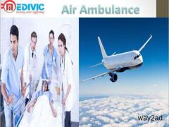 Critical Care Air Ambulance Service in Allahabad by Medivic Aviation