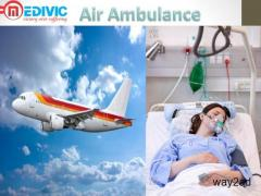 Commercial Air Ambulance Service in Lucknow by Medivic Aviation