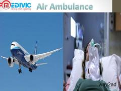 Long Distance Air Ambulance Service in Jamshedpur by Medivic Aviation