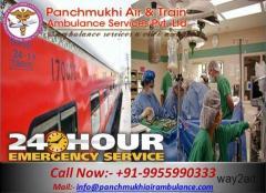 Get Medical Train Ambulance from Guwahati to Chennai- Panchmukhi