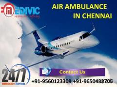 Pick Phenomenal Life Savior Air Ambulance Service in Chennai by Medivic