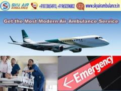 Sky Air Ambulance from Mumbai with Full Comfortably