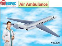 Get Best Service of Air Ambulance in Jamshedpur by Medivic Aviation