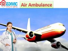Get Service of Air Ambulance in Dibrugarh by Medivic Aviation