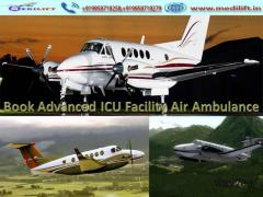 Best Medical Care Air Ambulance Service in Patna by Medilift