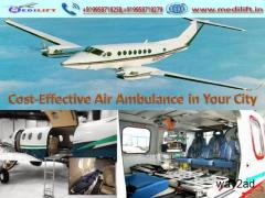 Trustful Medical Support Air Ambulance Service in Ranchi