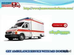 Book Jansewa Panchmukhi Ambulance Service in Mokama at Low Fare
