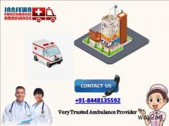 Receive Jansewa Panchmukhi Ambulance in Muzaffarpur at Affordable Cost