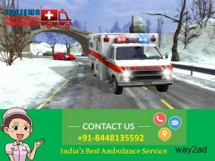 Get Comfortable Patient Transfer from Patna by Jansewa Panchmukhi Ambulance